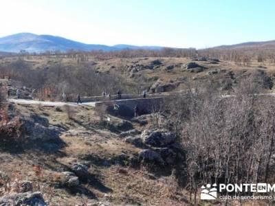 Puentes Medievales, Valle del Lozoya - Senderismo Madrid; senderos huelva